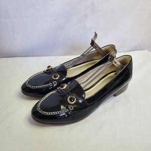 Jason Wu Black Patent Loafers